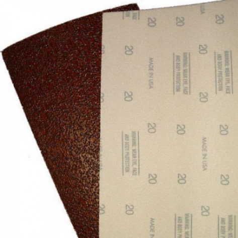 Squar Buff 600B - 12 Inch x 18 Inch Floor Sanding Sheets - Gripping Grit on Top